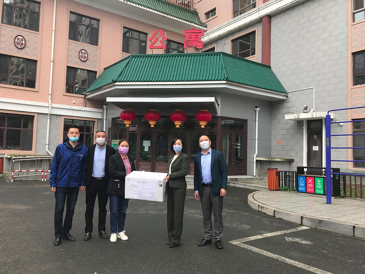 Réception du matériel médical offert par la SSC - Heilongjiang