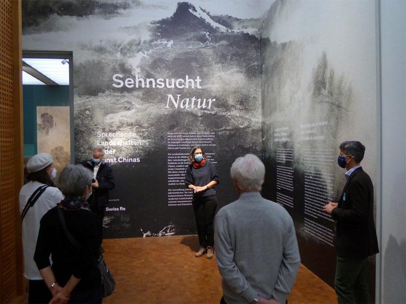 """Führung durch die Ausstellung """"SEHNSUCHT NATUR"""" in Zürich"""