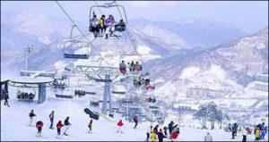 Station de ski de Yabuli, Chine