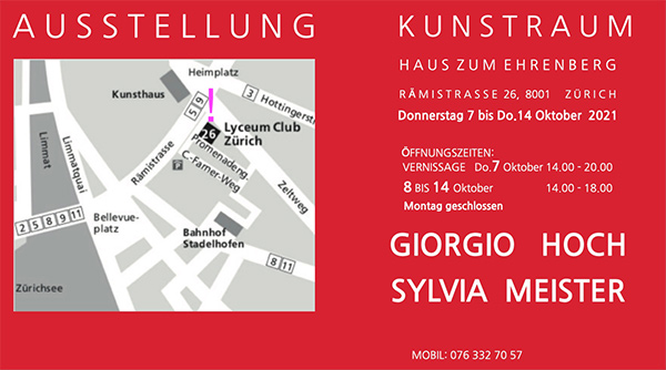 Sylvia Meister und Giorgio Hoch - Plan